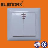 Переключатель стены Elendax электрический с светлое Turn-off (F6101)