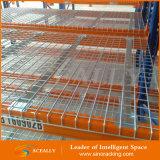 Шкаф паллета Decking ячеистой сети промышленного пакгауза стальной