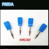 Herramientas de Preda HRC60 2m m para la máquina del CNC del metal