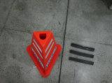 マレーシアの標準交通安全の製品の回転PEのピラミッドのトラフィックの円錐形