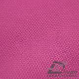 Agua y de la ropa de deportes tela tejida chaqueta al aire libre Viento-Resistente 100% de la pongis del poliester del telar jacquar de la tela escocesa del diamante abajo (53058)