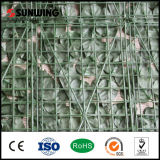 Nuovo PVC Coated Artificial Green Fencing di Style Decorative per Balcony