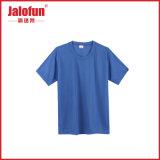 印刷の在庫のロットが付いている100つの綿の明白な人のTシャツ