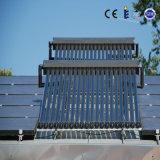 Colector solar de cobre del tubo de calor de Solarkeymark En12975 con el marco de aluminio