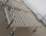 (A-130) Movable Doppeltes-Function Hospital Bed mit Edelstahl Bed Head