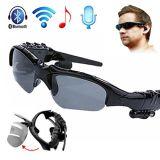 Écouteur stéréo mains libres d'écouteurs de Bluetooth de lunettes de soleil de téléphones mobiles sans fil d'écouteur