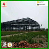 Aufbau-helle Stahlkonstruktion-Lager-Werkstatt