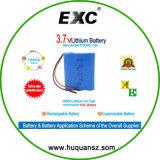 Li-ion18650 3.7V 10.2ah paquete de baterías recargables