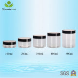 400ml化粧品の容器のための装飾的な包装のクリーム色ボックスプラスチック瓶
