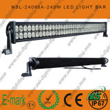 "42 "" 240W LED Light Bar Flood Spot Combo SUV Boat Offroad 4WD Driving Lamp"