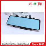H. 264 a caixa negra F26 do carro DVR com HD cheio 1080P Dual lente da câmera e espelho de Rearview duplos