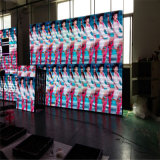 カラーLEDボードの表示画面を広告する屋外P6