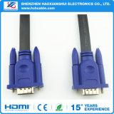 Кабель 3+6 VGA кабеля VGA высокого качества плоский для компьютера & игры