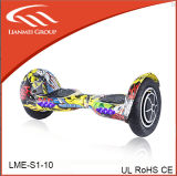 Planche à roulettes électrique avec le pneu 10inch pour la vente chaude en Europe