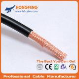 Cable de la cámara RG214 Cable coaxial eléctrico cable de alambre de circuito cerrado de televisión
