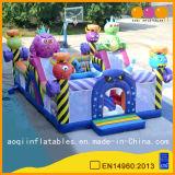 巨大なモンスターの主題の子供(AQ01570)のための膨脹可能な楽しみ都市運動場