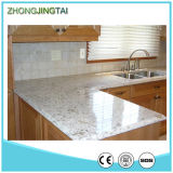 Zjt Dark Color Kitchen Cabinet Quartz Stone Countertop