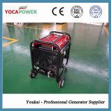 4kVA溶接工及び空気圧縮機の統合されたセットが付いている携帯用ガソリン発電機