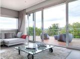Thermisches Bruch-Doppeltes glasig-glänzender Aluminiumrahmen schiebendes Windows