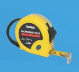 Стальная измеряя рулетка цвета двойника упора диска случая пластмассы и резины ленты