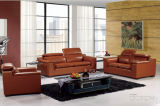 Leather moderno Sofa Set con Genuine Leather