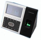Система посещаемости времени опознавания экрана касания 4.3 дюймов лицевая