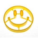 Kreatives lächelndes Gesicht formte Nahrungsmittelgrad-Silikon gebratene Ei-Form