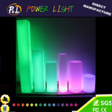 LED Furniture Garden Waterproof Plastic Lawn Pillar Lamp