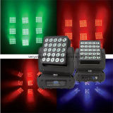 25X10W CREE ou Osram LED Magic Panel Matrix Moving Head