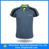 China hizo alta calidad la camisa de polo gris de Softextile del golf del Mens