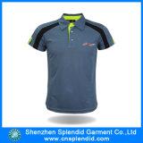 China stellte Qualität graues Mens-Golf Softextile Polo-Hemd her