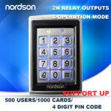 Удостоверение личности 125kHz Em или 13.56MHz система контроля допуска двери карточки близости металла автономный RFID