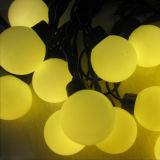 Grosses Kugel-Weihnachtsketten-Licht für im Freiendekoration