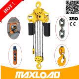 Doppia conversione di frequenza Chain 1000kg una gru Chain elettrica da 1 tonnellata