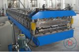Ibr et roulis ondulé de Double couche de feuille de toit formant des machines
