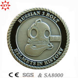 관례 3D Design Army Challenge Metal Coin