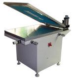 Machine plate en verre manuelle d'impression d'écran en soie de vide de TM-6080s