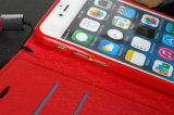 cassa del raccoglitore della chiusura lampo del ribattino del Rhombus di iPhone 5s con la corda della mano