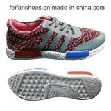 2016 chaussures occasionnelles respirables Jf160605-10 de sports de Flyknit de l'injection des plus défunts hommes bon marché
