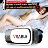 rectángulo de Vr de la realidad virtual de los vidrios de Vr del receptor de cabeza 3D