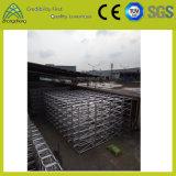 Ausstellung, die Geräten-Aluminiumschraubbolzen-Stadiums-Binder bekanntmacht