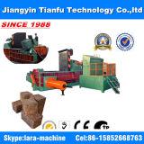 125ton hydraulische het In balen verpakken van het Metaal van de Pers van het Schroot Machine (Ce)