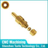 習慣CNCの回転黄銅は電子部品を分ける