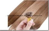 Extension plate de cheveux humains de Remy de cheveux humains d'extrémité