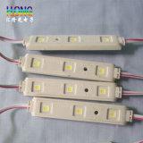 El alto brillo de DC12V impermeabiliza el módulo de la inyección de 5050 LED