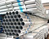 Tubulação de aço galvanizada mergulhada quente da programação 40/tubulação de aço suave com baixo preço galvanizado da tubulação do ferro