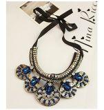 De Juwelen van de Halsband van de Kraag van de Nauwsluitende halsketting van de Verklaring van het Kristal van de manier