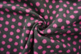 Ткань шерстяное Flecky Pink&Black шерстей