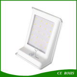Popular LED de la pared de la luz 16LED lámpara solar Sensor de movimiento de luz de la noche de seguridad Al aire libre de iluminación del jardín