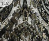 Grande tela Process popular do jacquard 2016 na tela do sofá do Chenille (FTH31619)